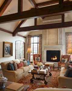 Fancy french country living room decorating ideas (29)