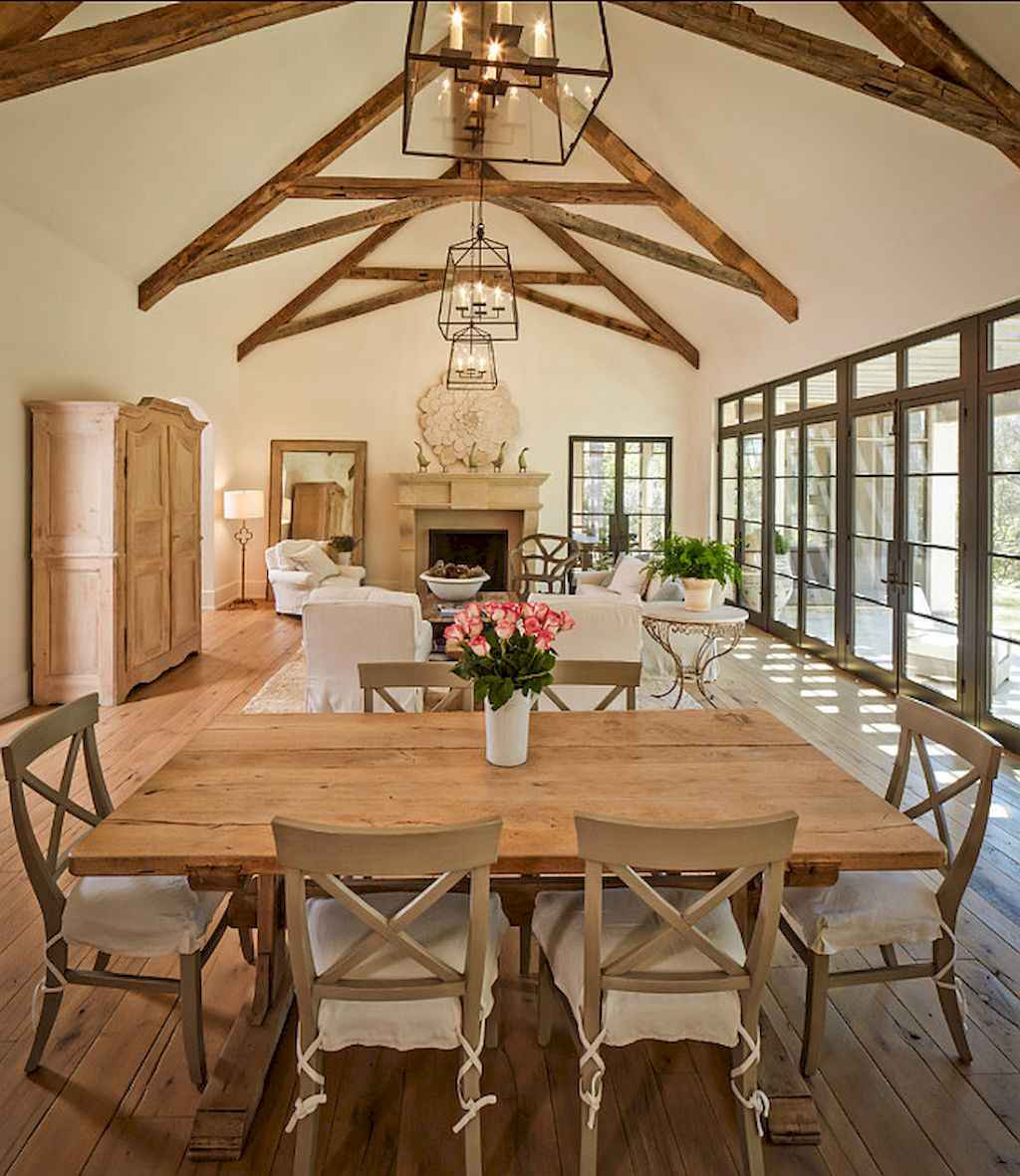 Fancy french country living room decorating ideas (36)