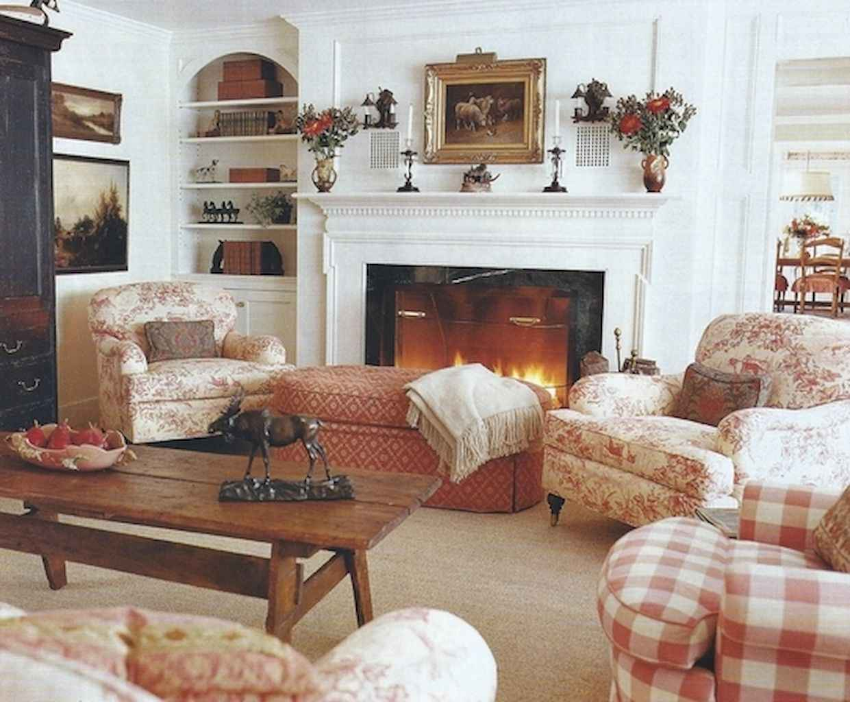 Fancy french country living room decorating ideas (5 ...