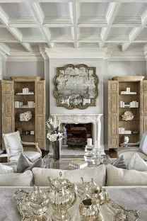 Fancy french country living room decorating ideas (7)