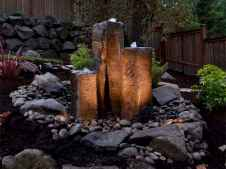 Fresh water feature for front yard and backyard landscaping (10)