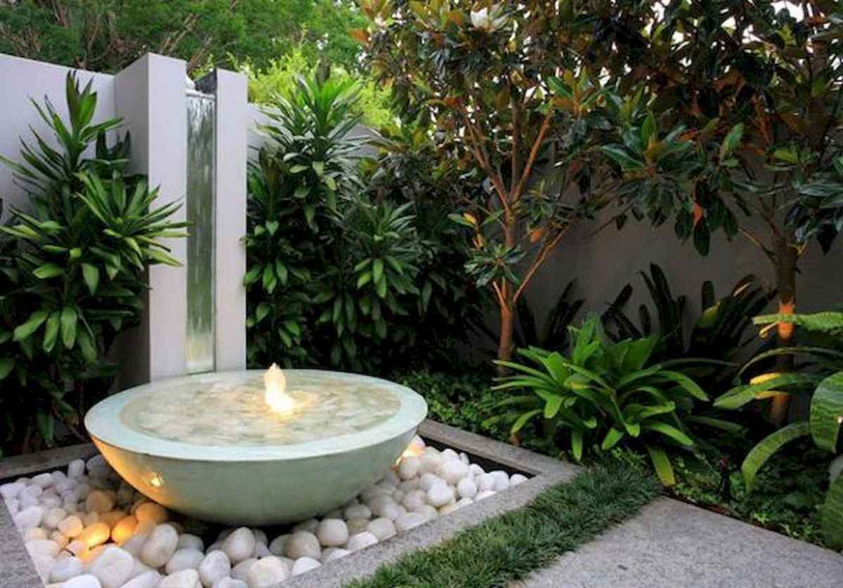Fresh water feature for front yard and backyard landscaping (2)