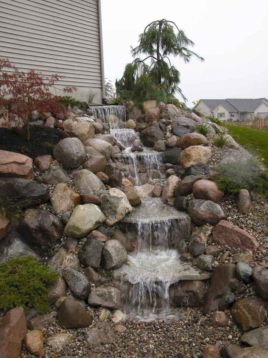 Fresh water feature for front yard and backyard landscaping (28)