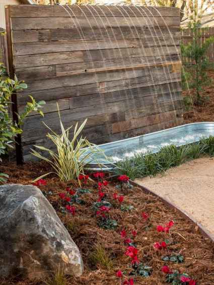 Fresh water feature for front yard and backyard landscaping (4)