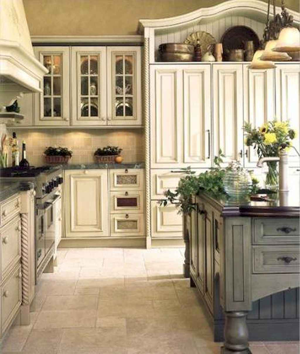 Incredible french country kitchen design ideas (22)