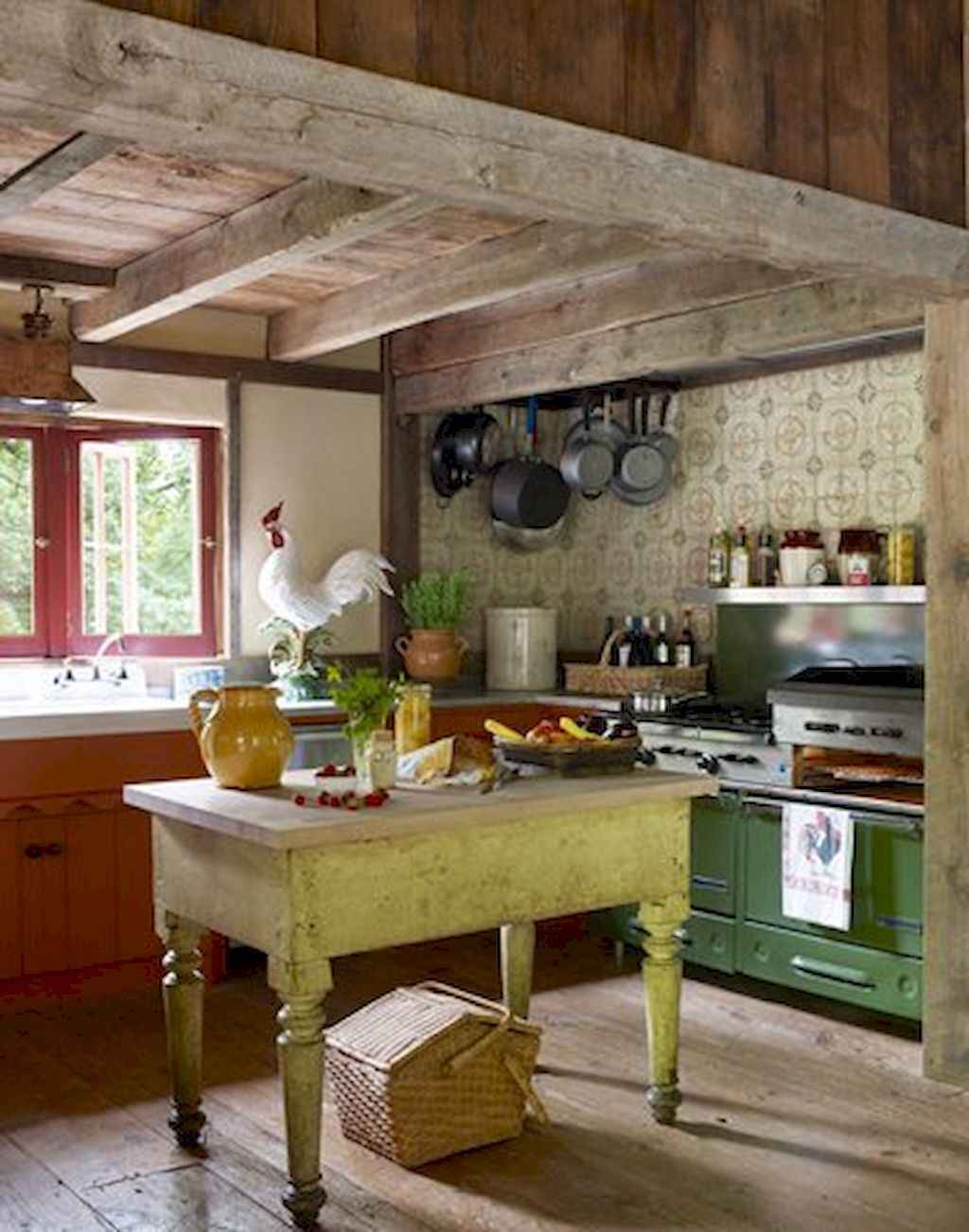 Incredible french country kitchen design ideas (23)