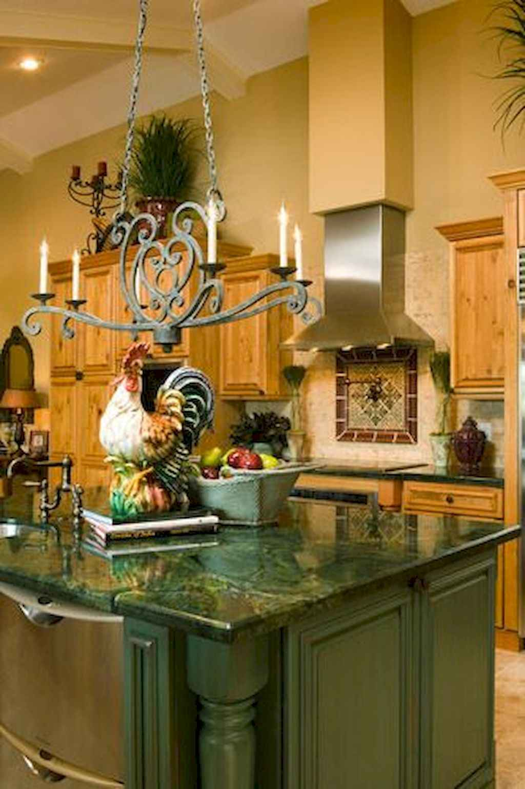 Incredible french country kitchen design ideas (33)