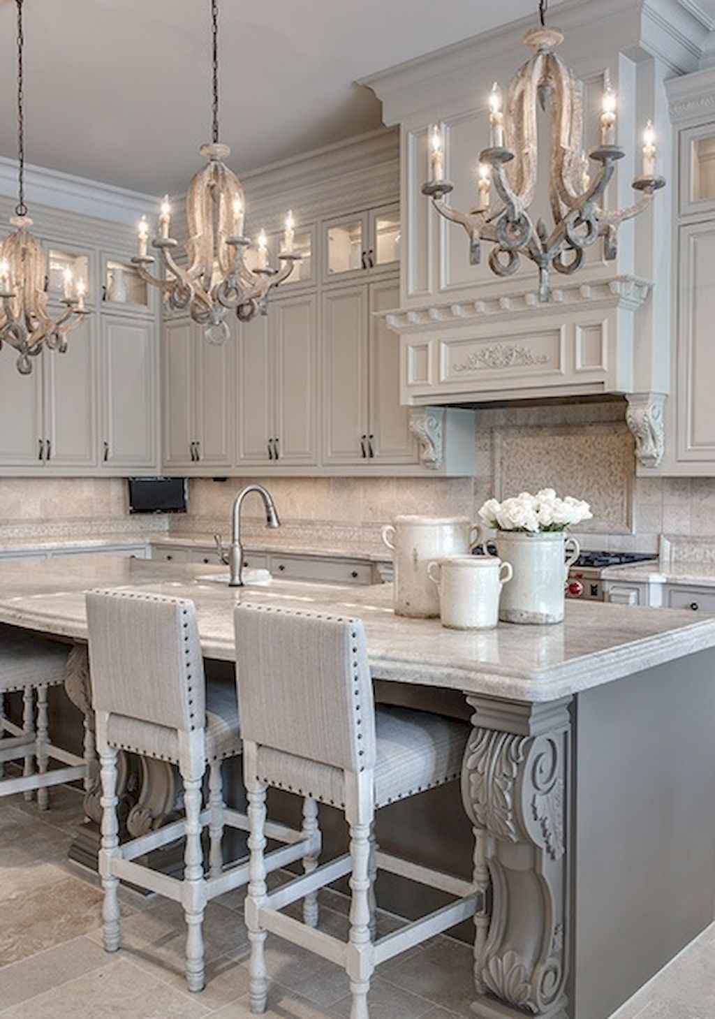 Incredible french country kitchen design ideas (4)