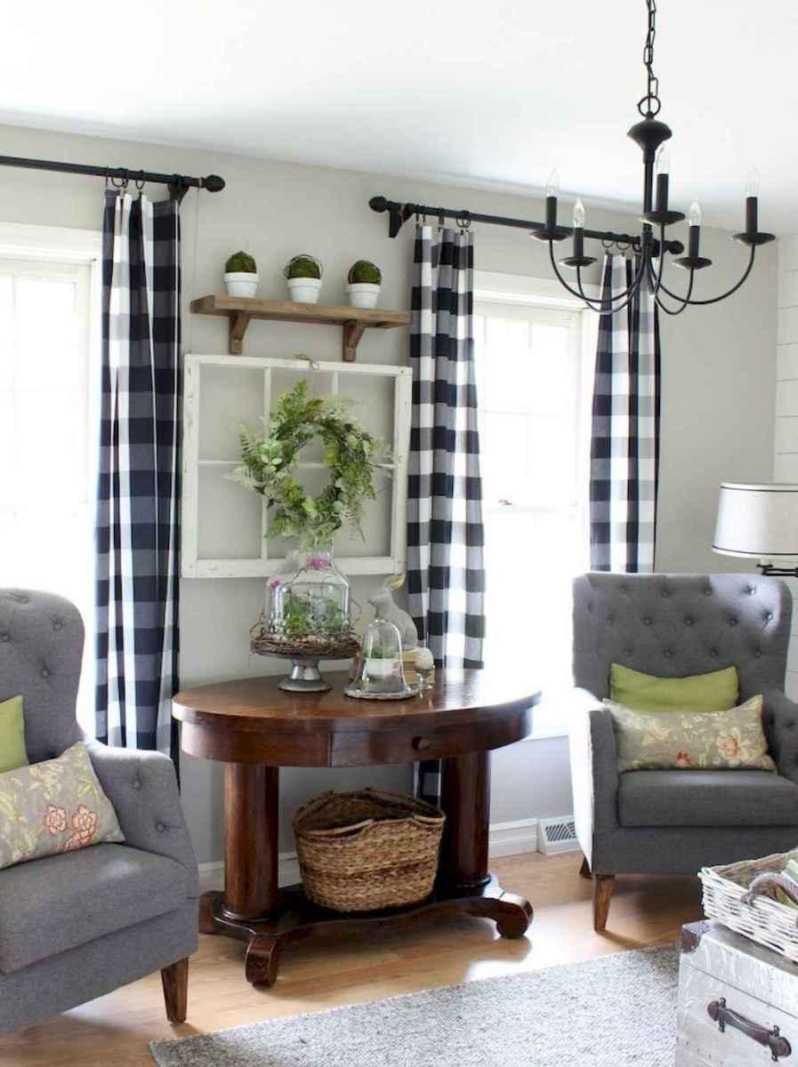 Rustic farmhouse living room design and decor ideas (2)