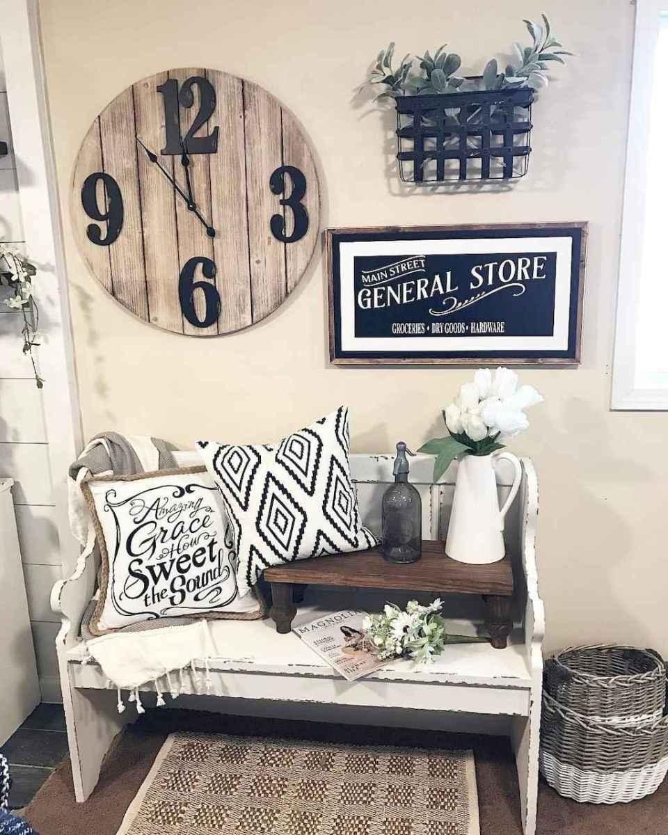 Rustic farmhouse living room design and decor ideas (30)