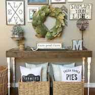 Rustic farmhouse living room design and decor ideas (39)