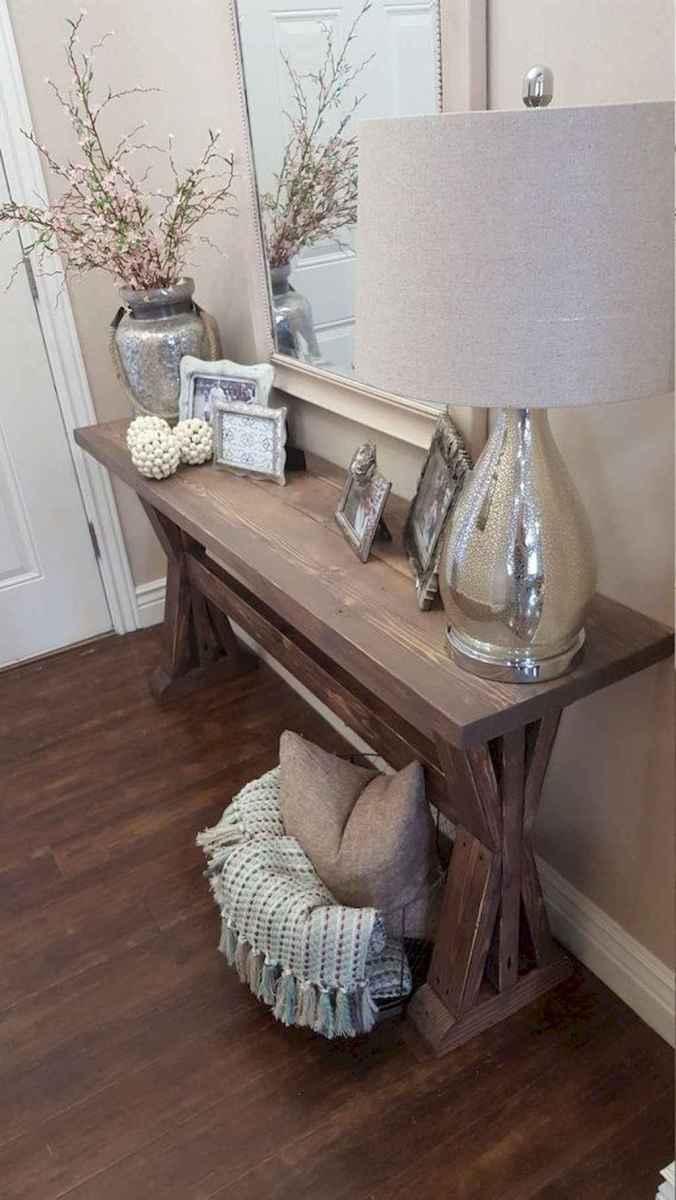 Rustic farmhouse living room design and decor ideas (47)
