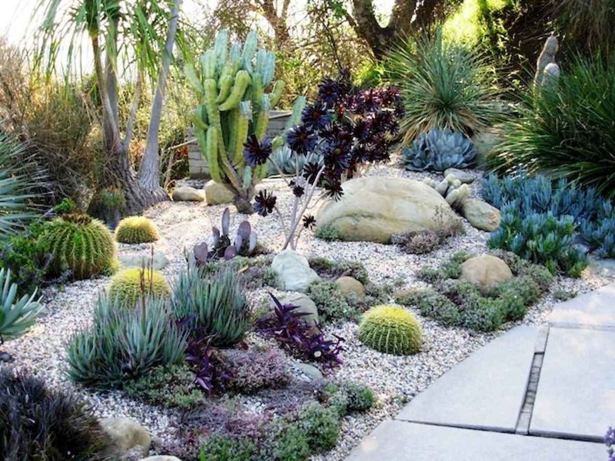 Simple clean modern front yard landscaping ideas (10)