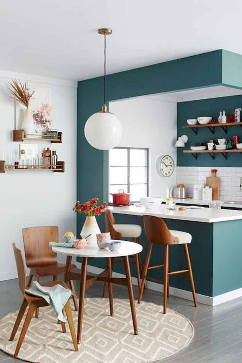 Small dining room table and chair ideas on a budget (37)