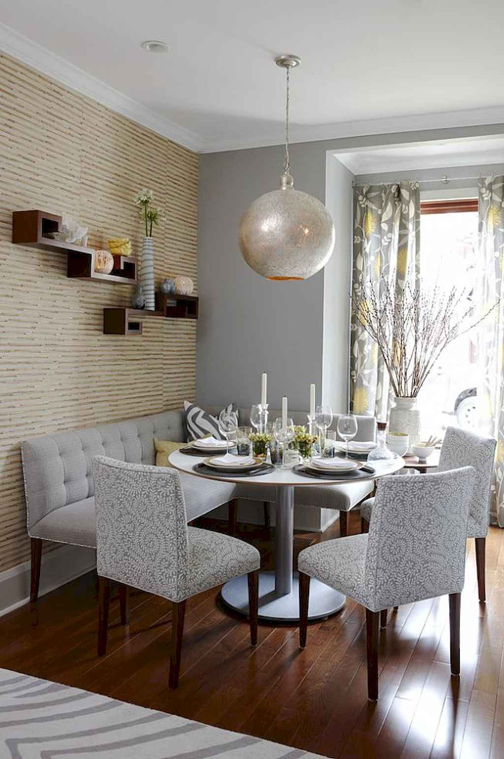 Small dining room table and chair ideas on a budget (42)