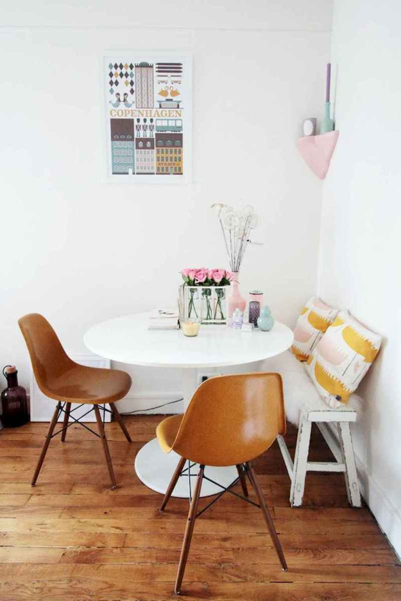 Small dining room table and chair ideas on a budget (51)