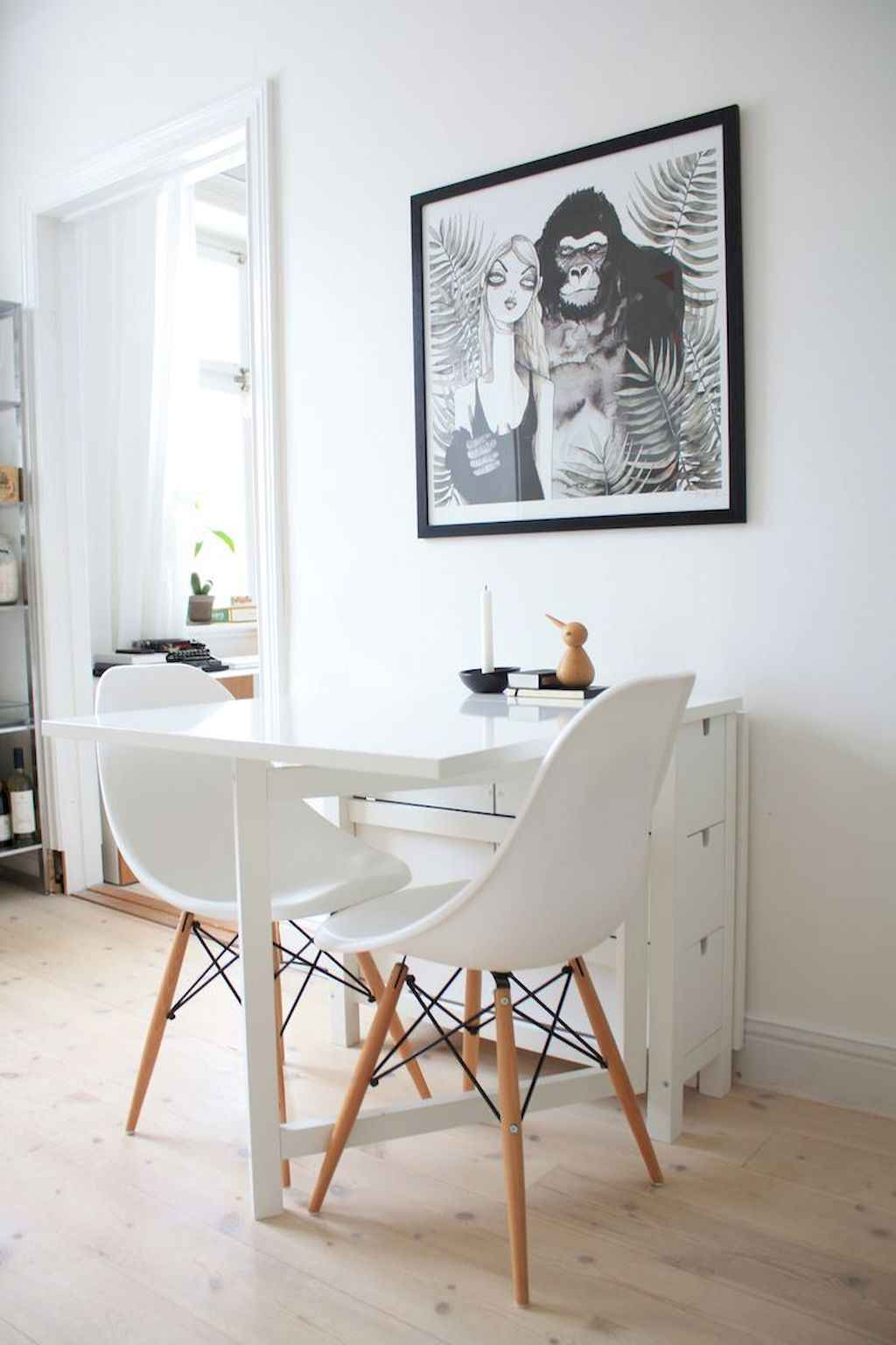 Small dining room table and chair ideas on a budget (55)
