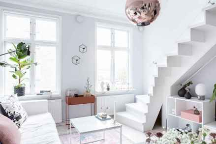 Stylish scandinavian style apartment decor ideas (33)