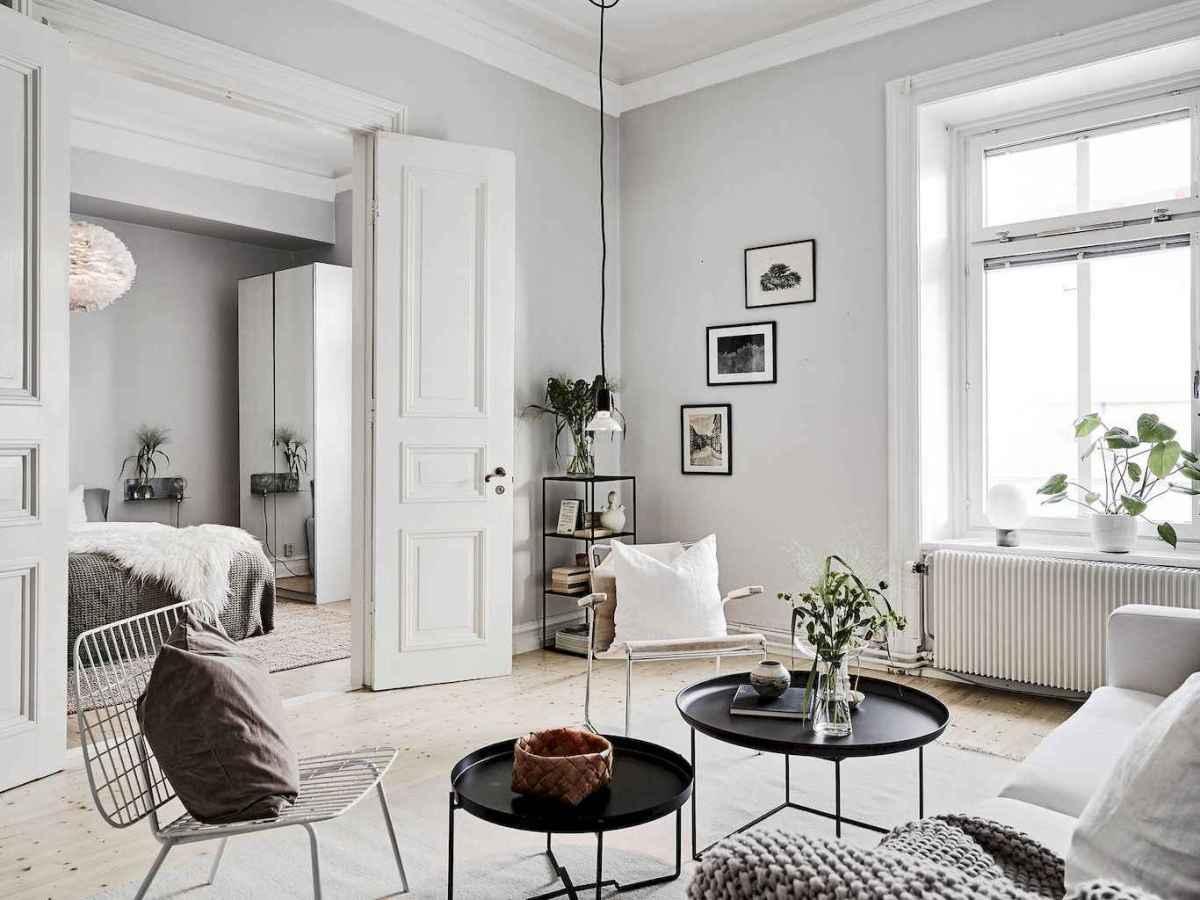 Stylish scandinavian style apartment decor ideas (62)