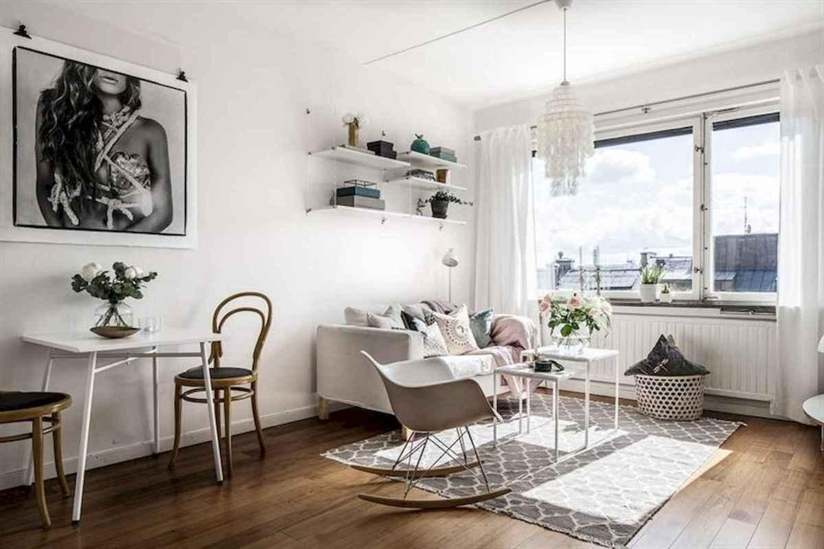 Stylish scandinavian style apartment decor ideas (66)