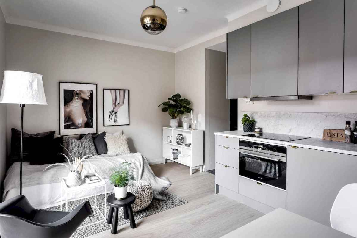 Stylish scandinavian style apartment decor ideas (83)