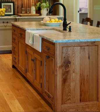 Stylish and inspired farmhouse kitchen island ideas and designs (14)