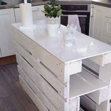 Stylish and inspired farmhouse kitchen island ideas and designs (27)