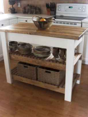 Stylish and inspired farmhouse kitchen island ideas and designs (6)