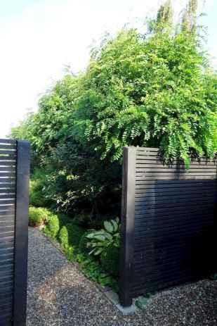 Wooden privacy fence patio & garden ideas (10)
