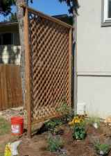 Wooden privacy fence patio & garden ideas (61)
