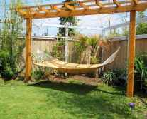 Wooden privacy fence patio & garden ideas (67)