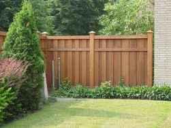 Wooden privacy fence patio & garden ideas (7)