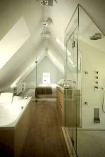 Attic bathroom makeover ideas on a budget (53)