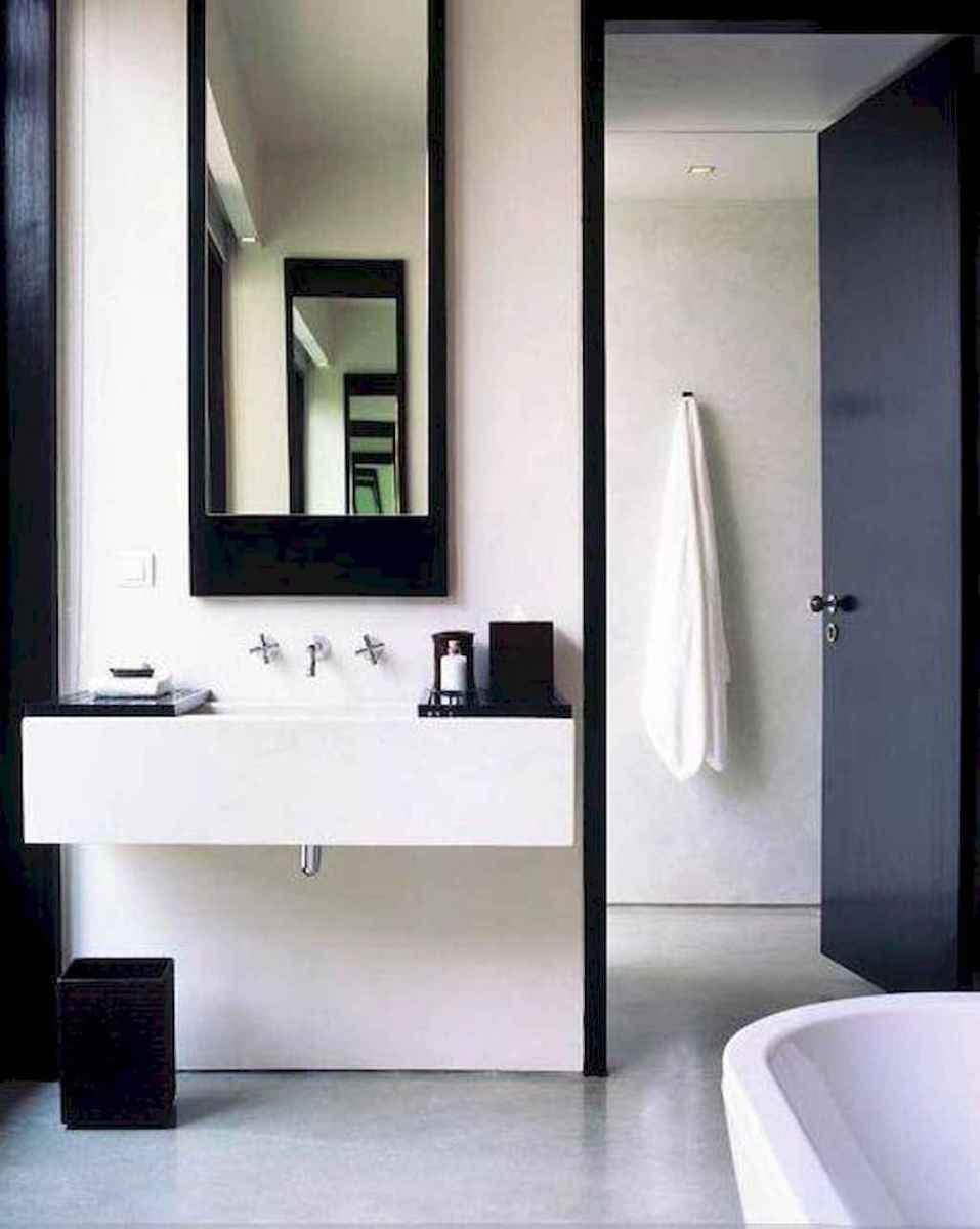 Awesome minimalist bathroom decoration ideas (20)