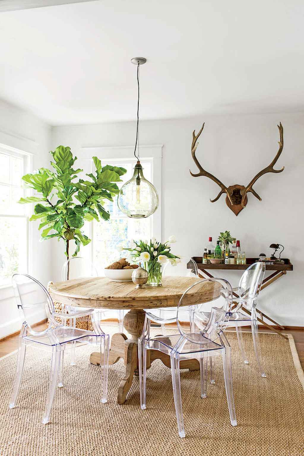 Clever small dining room ideas (17)