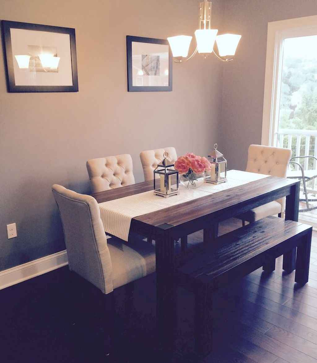 Clever small dining room ideas (19)