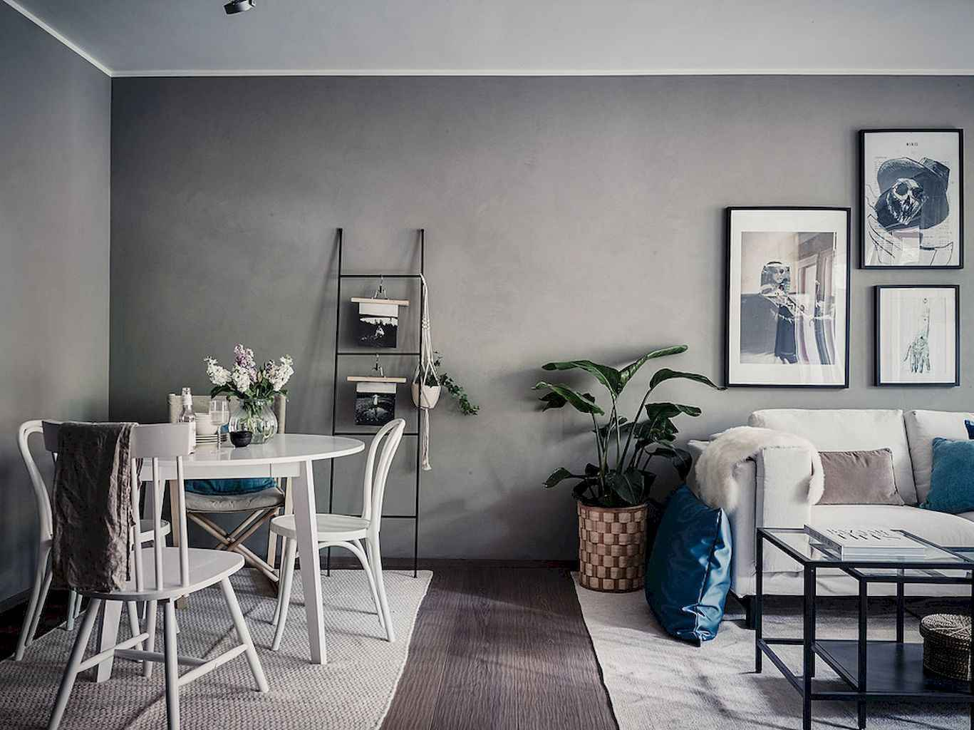 Clever small dining room ideas (27)