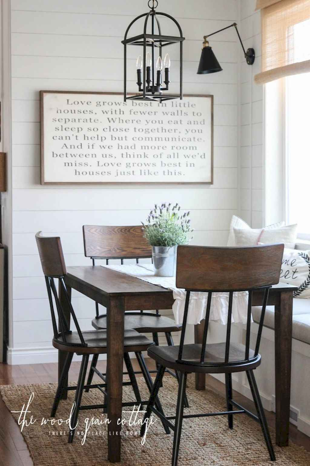 Clever small dining room ideas (41)