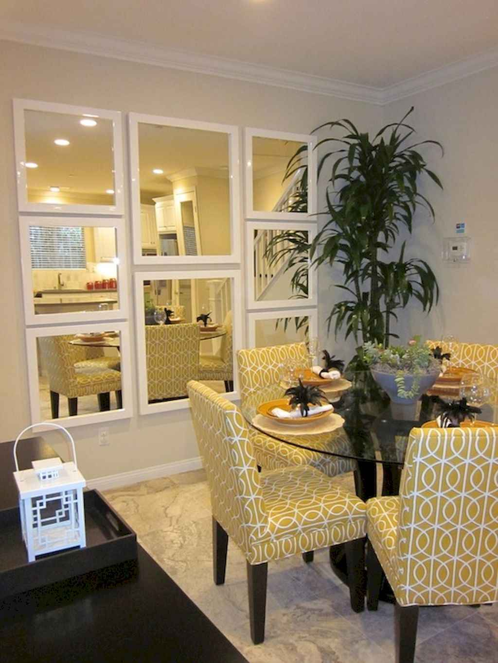 Clever small dining room ideas (50)