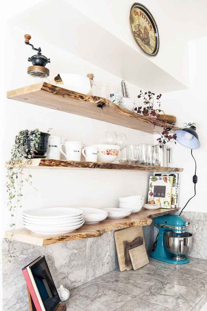 Clever small kitchen remodel and open shelves ideas (10)