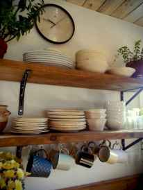 Clever small kitchen remodel and open shelves ideas (19)