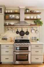 Clever small kitchen remodel and open shelves ideas (35)