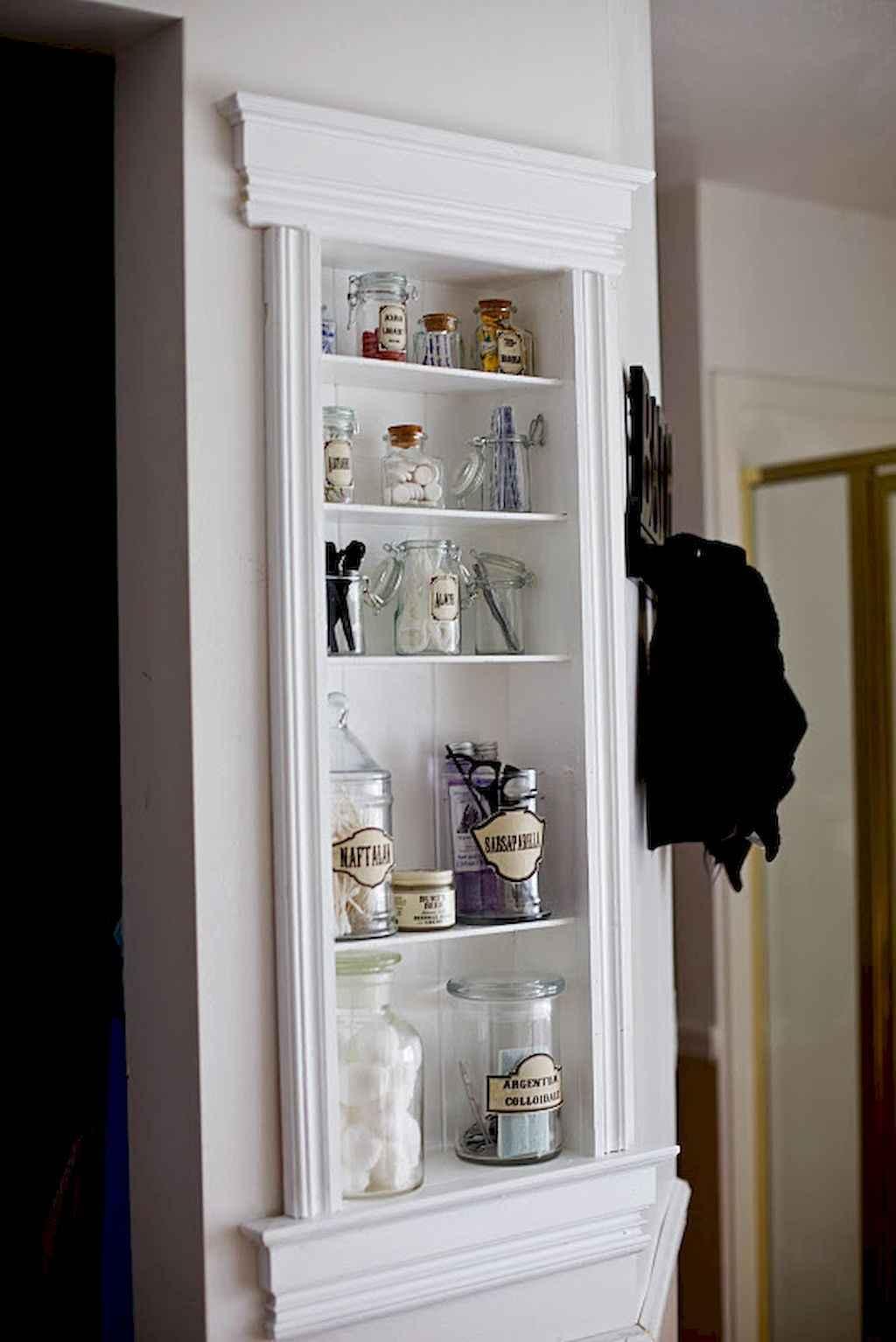 Cool bathroom storage shelves organization ideas (2)