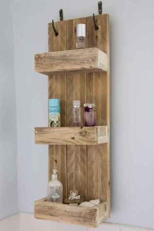Cool bathroom storage shelves organization ideas (33)