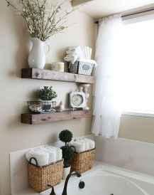 Cool bathroom storage shelves organization ideas (54)
