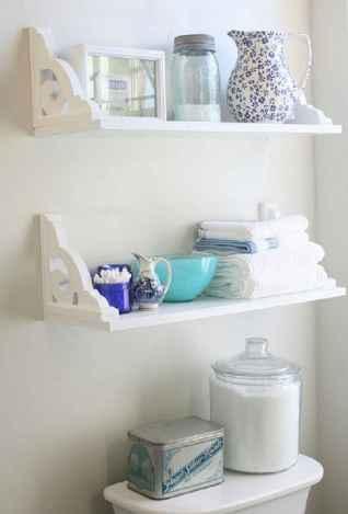 Cool bathroom storage shelves organization ideas (66)