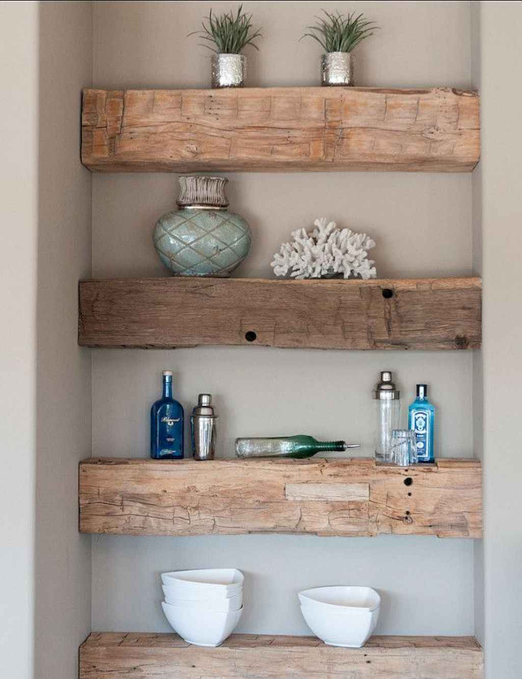 Cool bathroom storage shelves organization ideas (69)