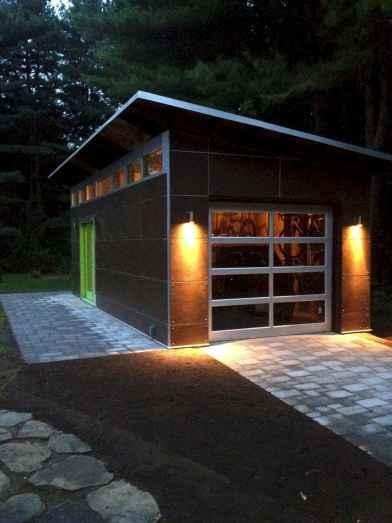 Cool diy backyard studio shed remodel design & decor ideas (18)