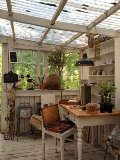 Cool diy backyard studio shed remodel design & decor ideas (31)