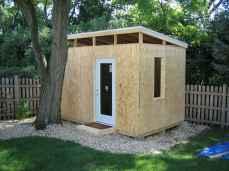 Cool diy backyard studio shed remodel design & decor ideas (34)